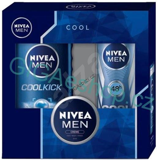NIVEA MEN kazeta Cool Kick & Creme